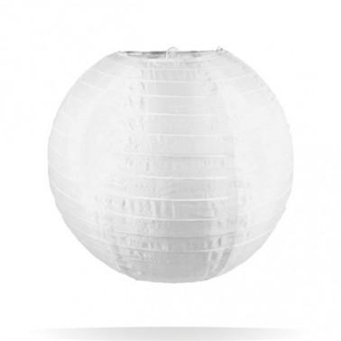 lampion nylon wit 25 cm