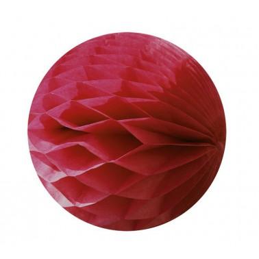 honeycomb bordeaux diameter 15cm