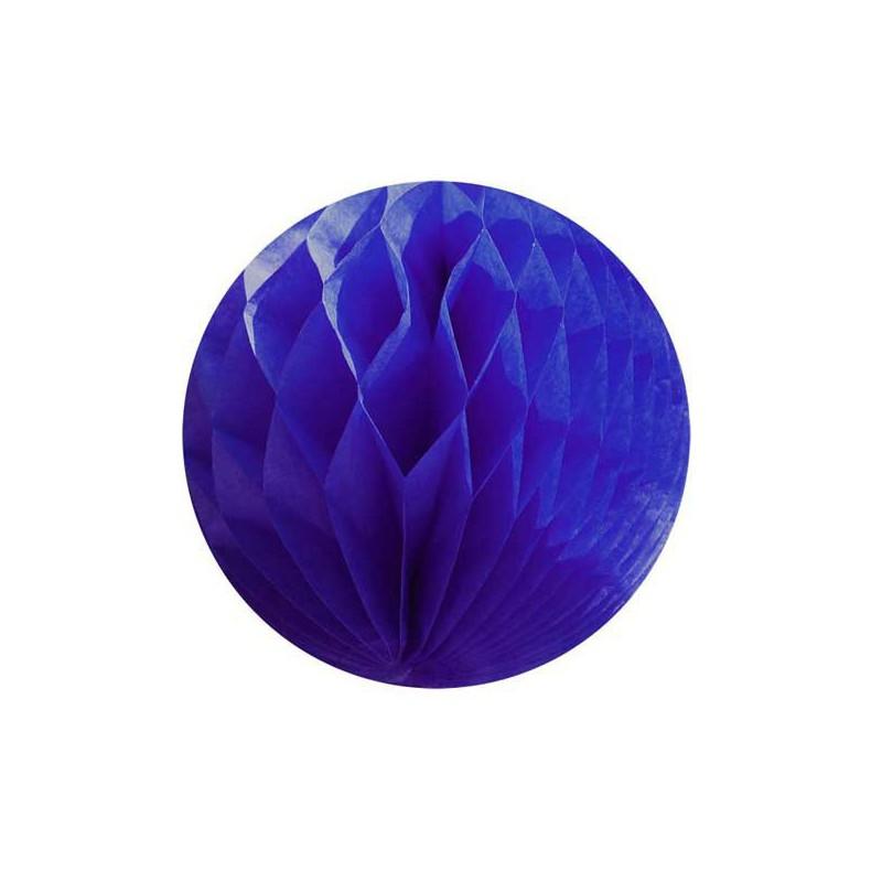 honeycomb donkerblauw diameter 15cm