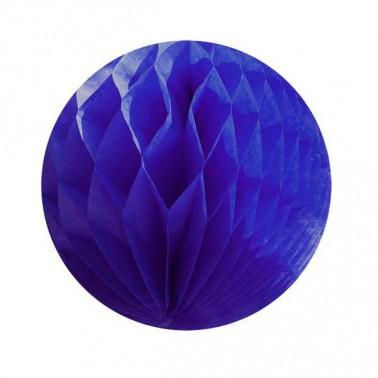 honeycomb donkerblauw diameter 25cm