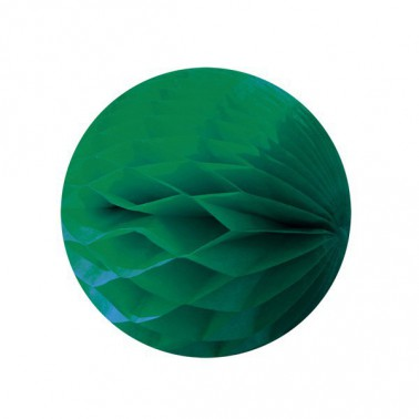 honeycomb donkergroen diameter 25cm
