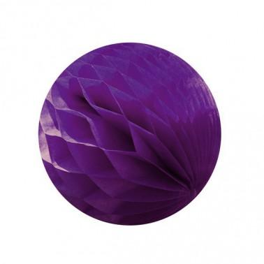honeycomb donkerpaars diameter 25cm