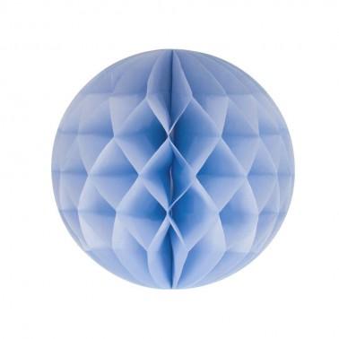 honeycomb lichtblauw diameter 15cm