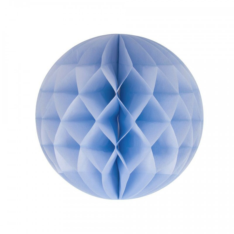 honeycomb lichtblauw diameter 20cm
