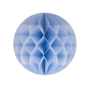honeycomb lichtblauw diameter 25cm