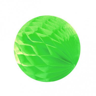 honeycomb lichtgroen diameter 25cm