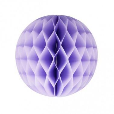 honeycomb lichtpaars diameter 20cm