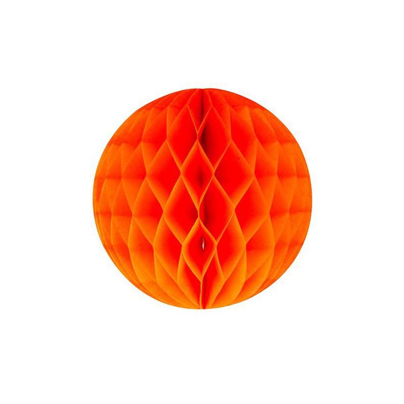 honeycomb oranje diameter 15cm