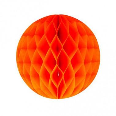 honeycomb oranje diameter 20cm