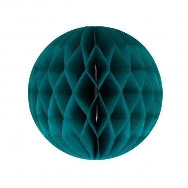 honeycomb petrolgroen diameter 25cm