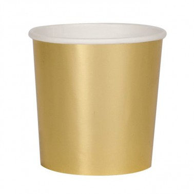 8 bekertjes goud tumbler