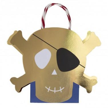 8 zakjes piraat
