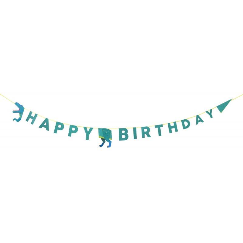 slinger dino 'happy birthday'