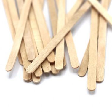 20 stokjes hout voor feestprint (14cm)