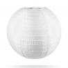 lampion nylon wit 35 cm