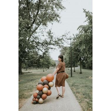 Ballonslinger bruin
