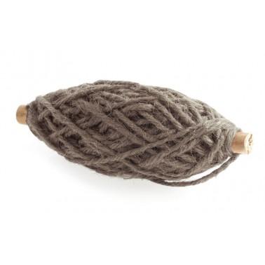 25m touw jute bruin 3,5mm op spoel