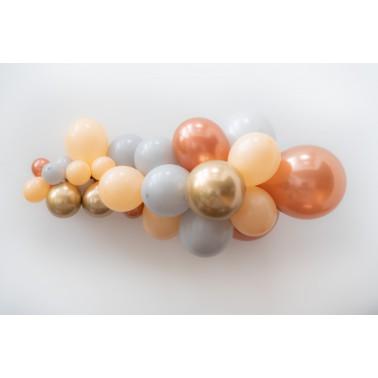ballonslinger peach-goud