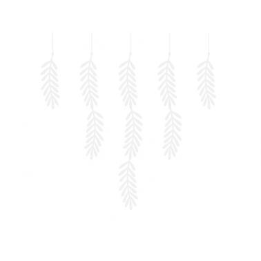 20 bladeren wit