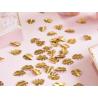 confetti tropische bladeren goud