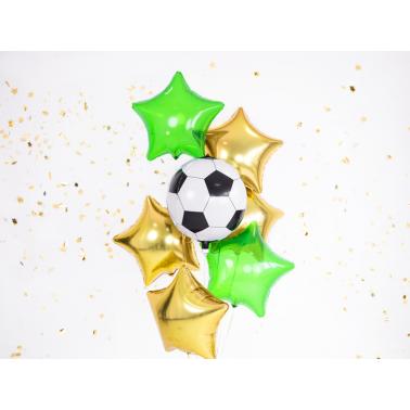 Voetbalsfeer in huis met deze prachtige voetbal folieballon 40cm
