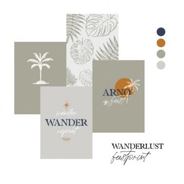 feestprint wanderlust