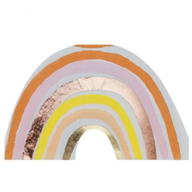 16 servetten regenboog nude