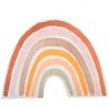 4 placemats regenboog nude