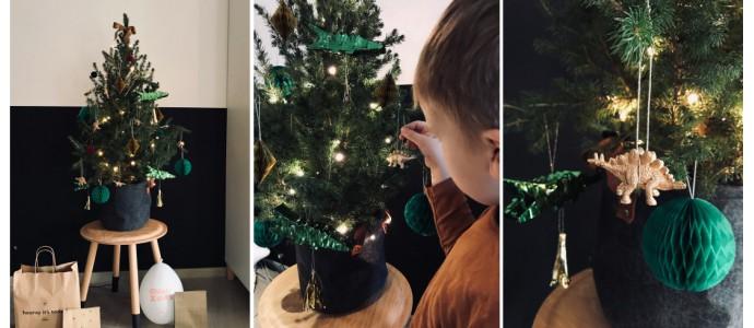 Ohlala Tatjana haar kerstboom (en die van Mathis)